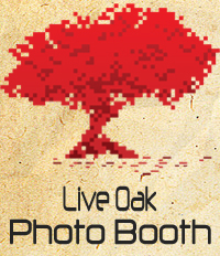 Live Oak Photo Booth logo